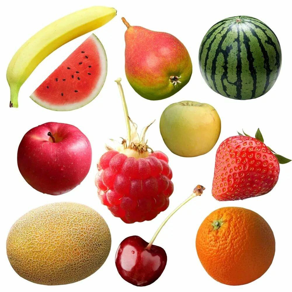 Яркие фрукты картинки для детей
