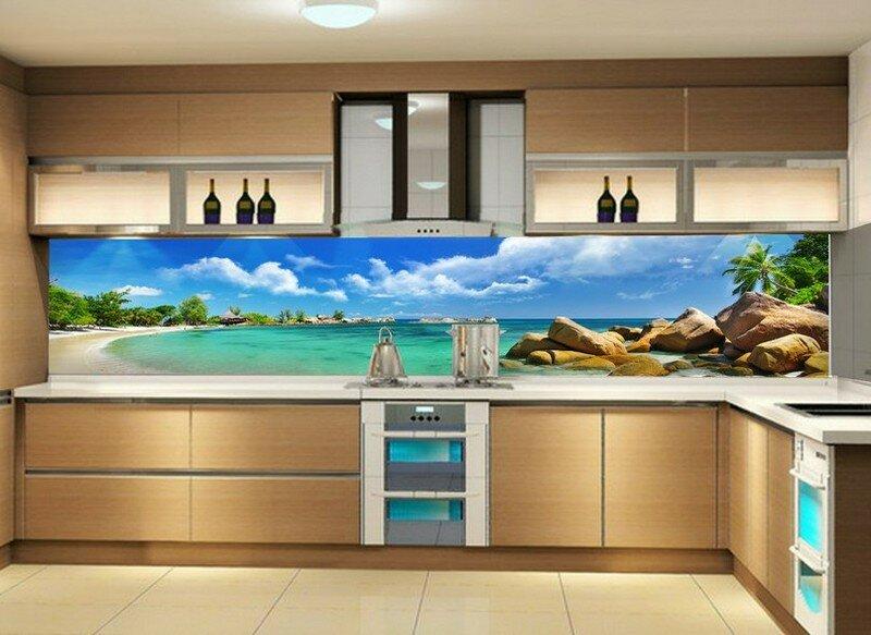 картинки для кухонного фартука море солнце такой