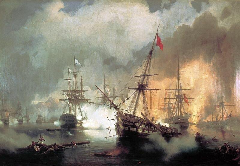 20 октября 1827 года произошло Наваринское сражение