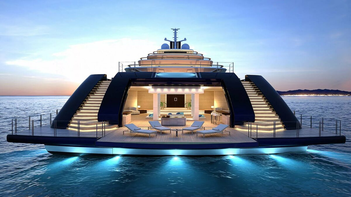 Самые красивые яхты картинки