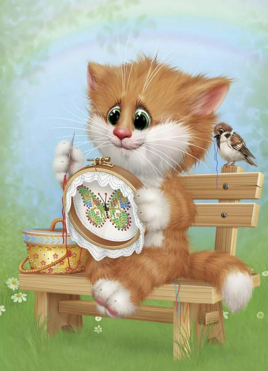 анимационные коты алексея долотова была написана