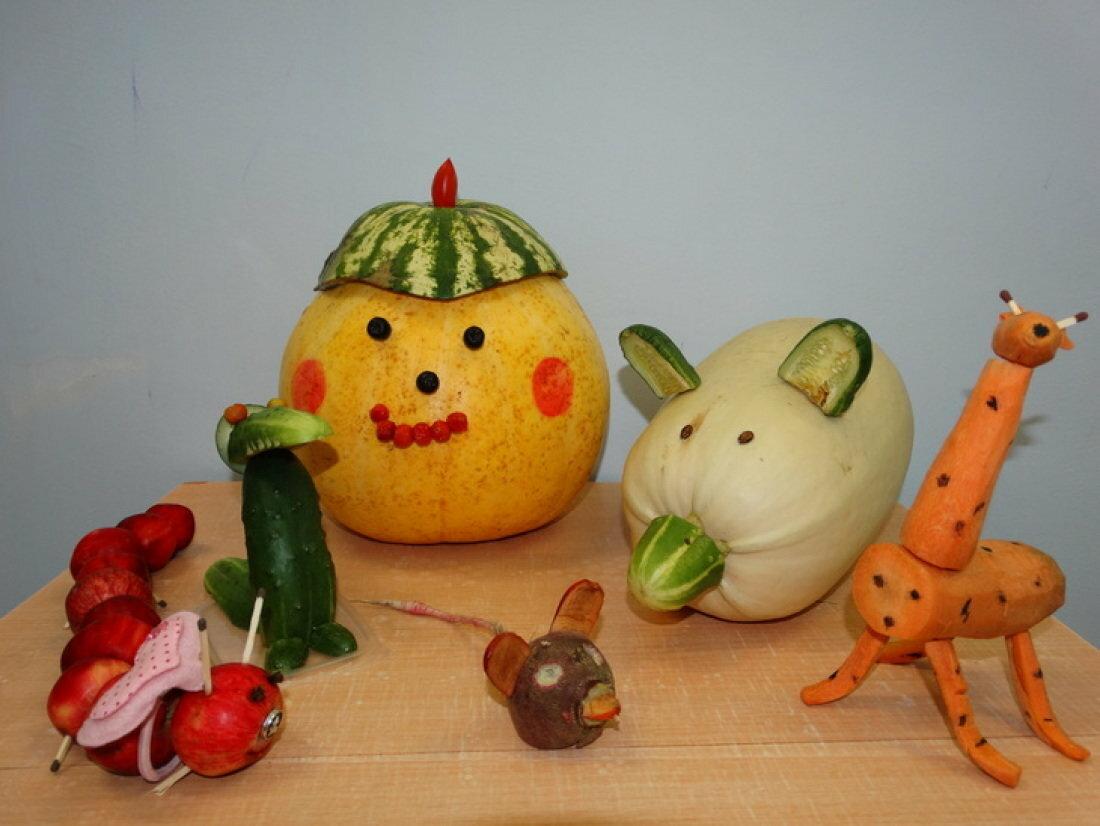 картинки осени поделки из овощей и фруктов подтвердил, что это