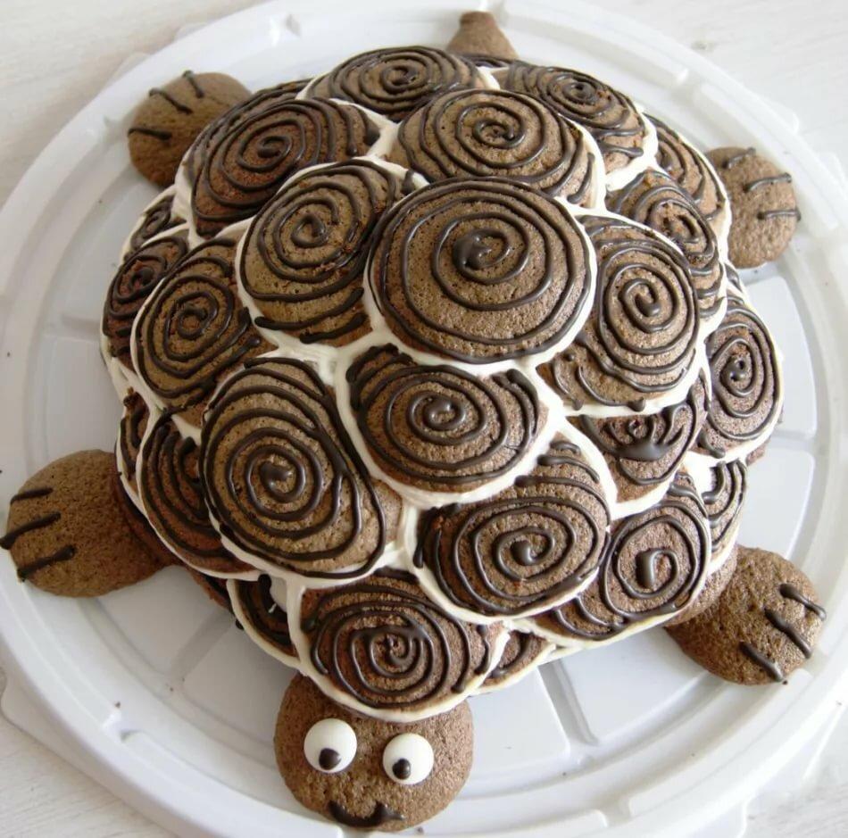 торт черепаха самый простой рецепт с фото