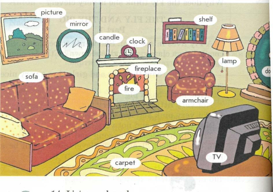 Картинка для описания дома на английском всяком