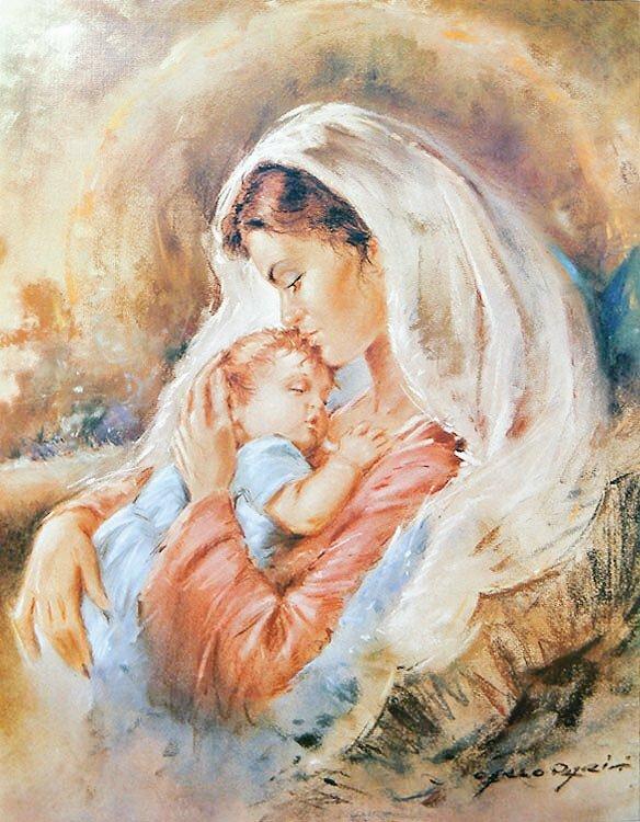 Картинки мать и дитя красивые