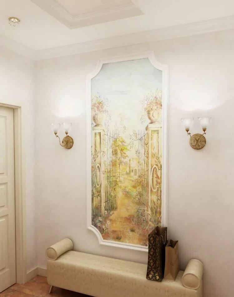 есть фрески на стене в квартире фото бесплатные картинки