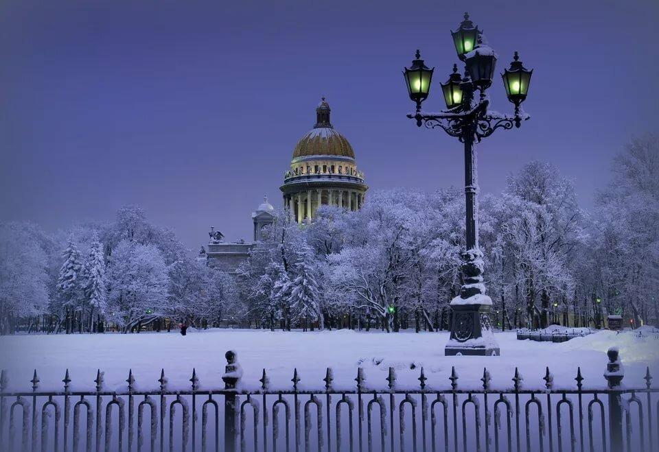 Зимний вечер картинки на рабочий стол