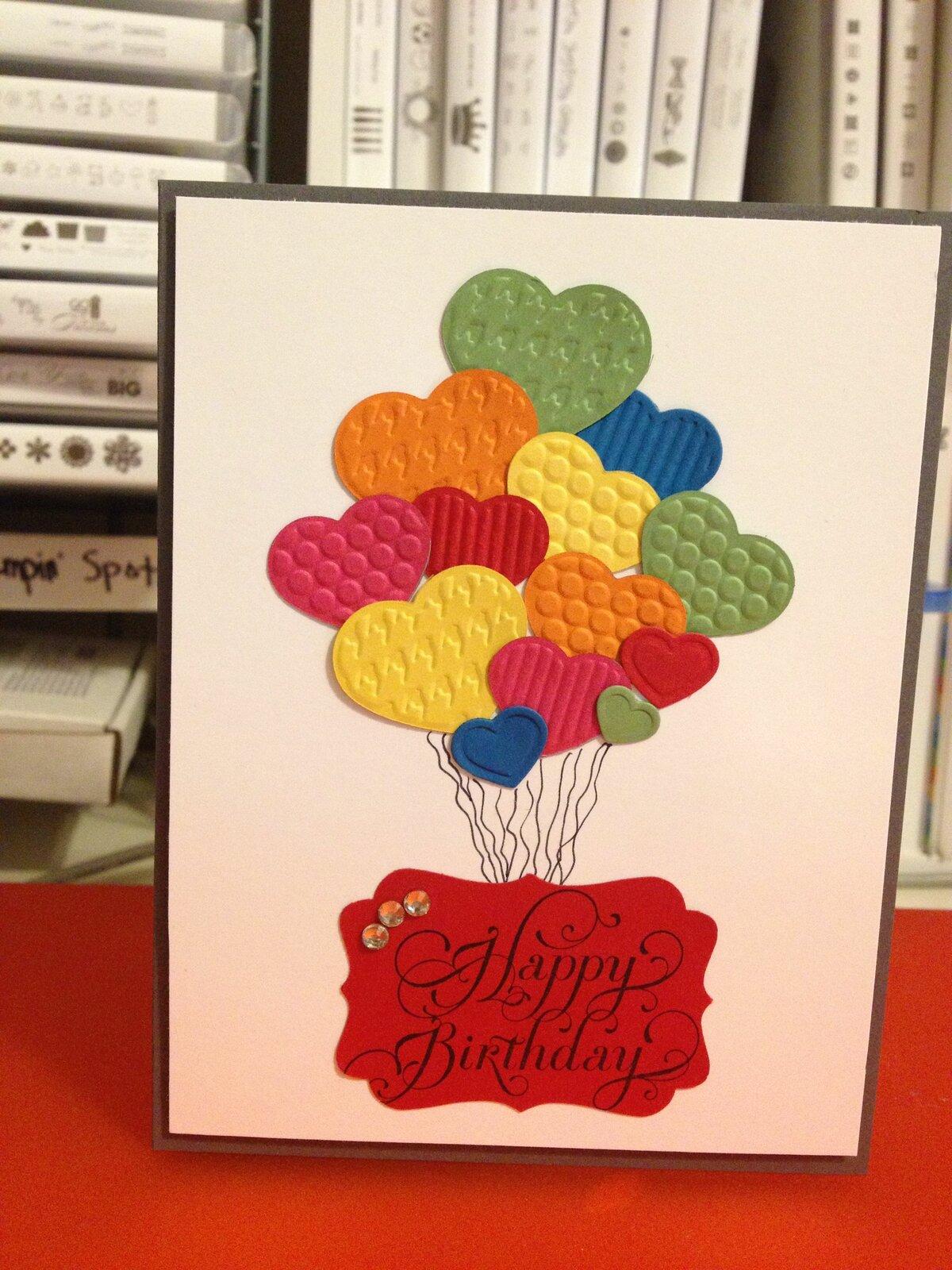 Идеи как оформить открытку с днем рождения