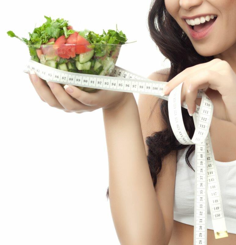 Картинки девушка диета