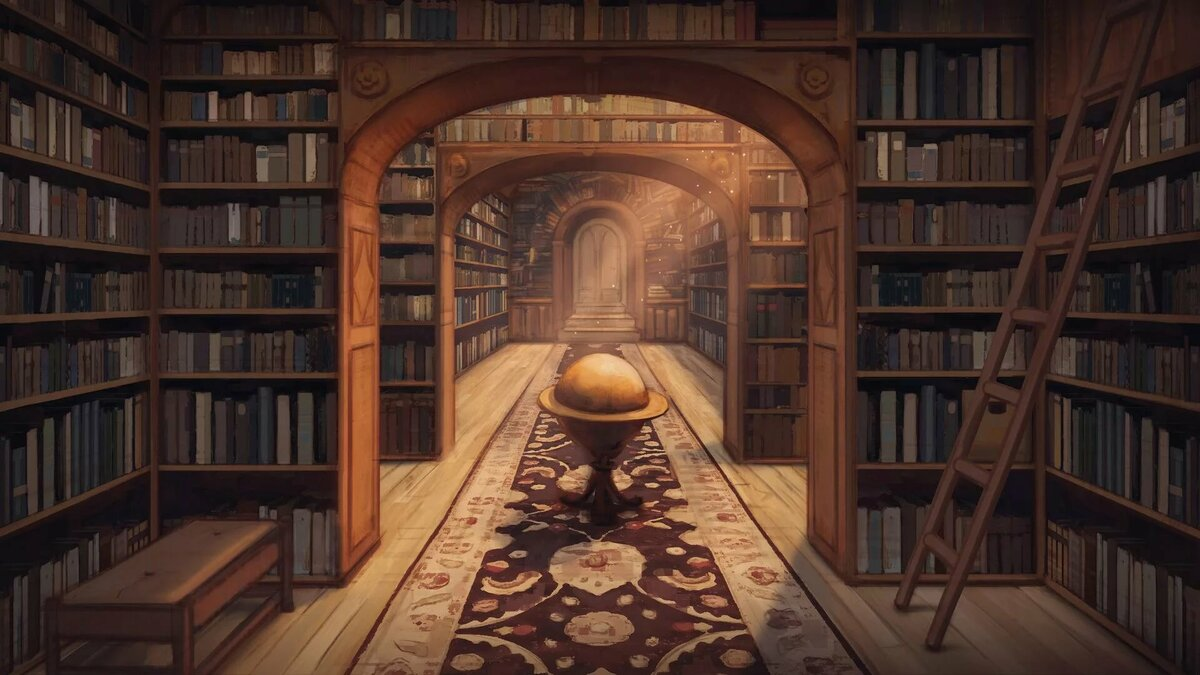 картинки волшебных библиотек большей