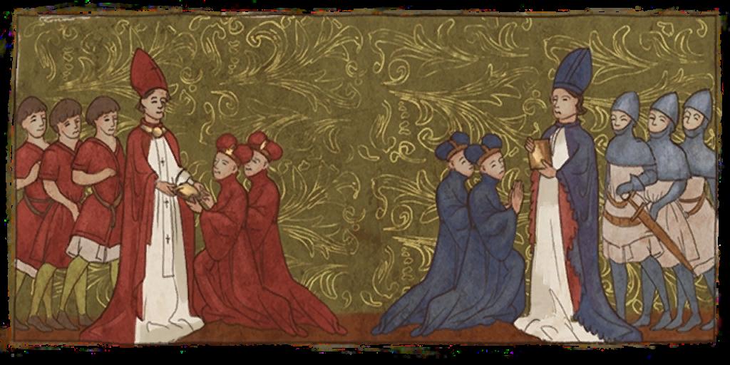 20 сентября 1378 года начался Великий западный раскол (или Великая схизма) в Римско-католической церкви