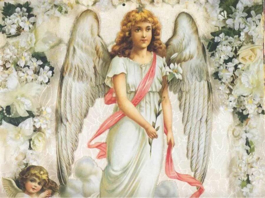 картинки ангелы божие окрашен хорошо