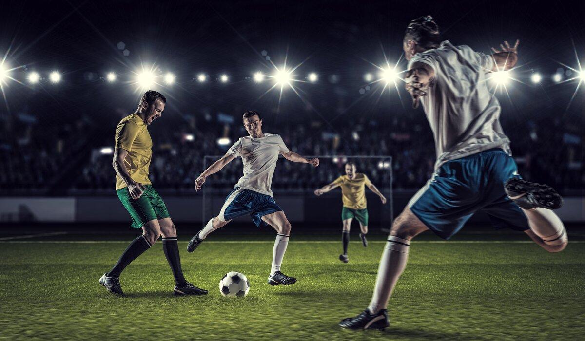 Время футбол в картинках