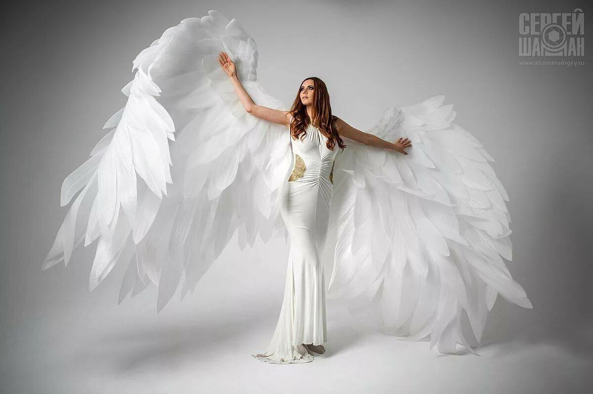 выглядит создать фото с крыльями ангела фото сняла