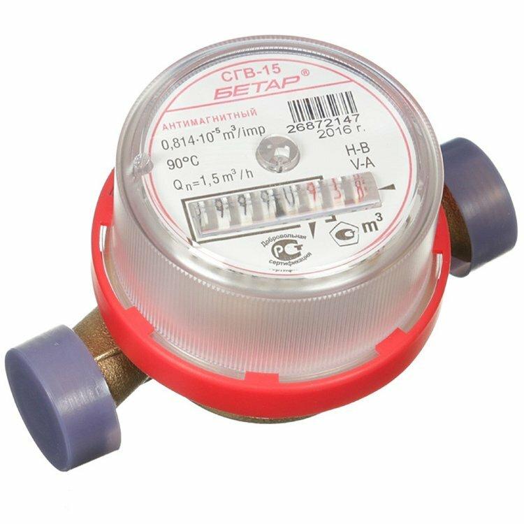 счётчик воды без антимагнитной защиты