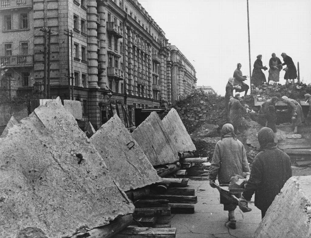 Ленинград в годы блокады фото