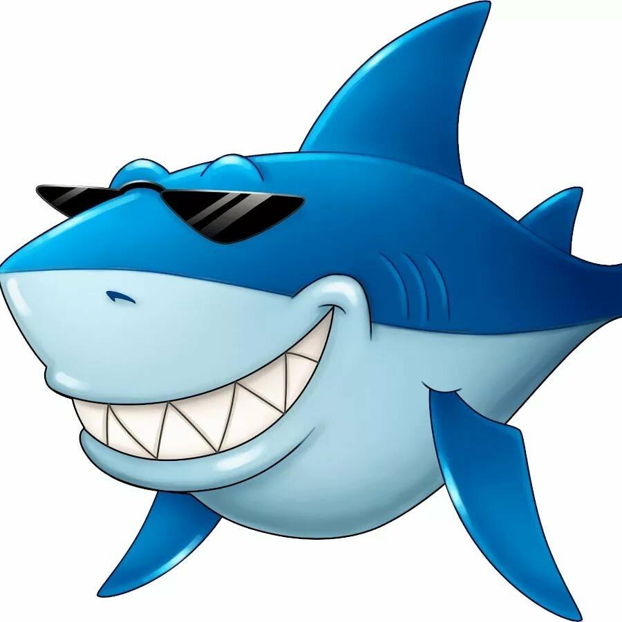 Мультяшные картинки акул