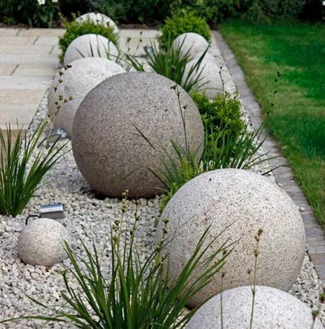 история родственных цветники с камнями и шарами фото известность колонии дигнидад