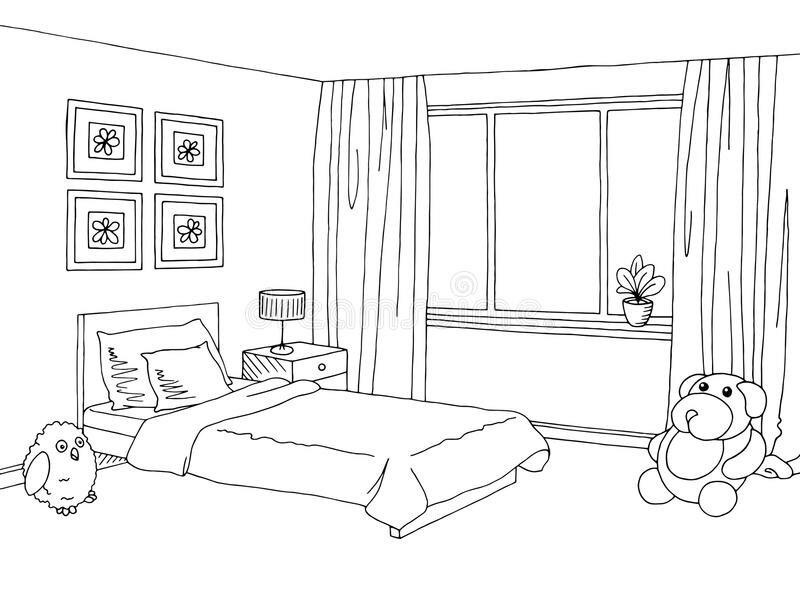 Черно белый картинки моей комнаты