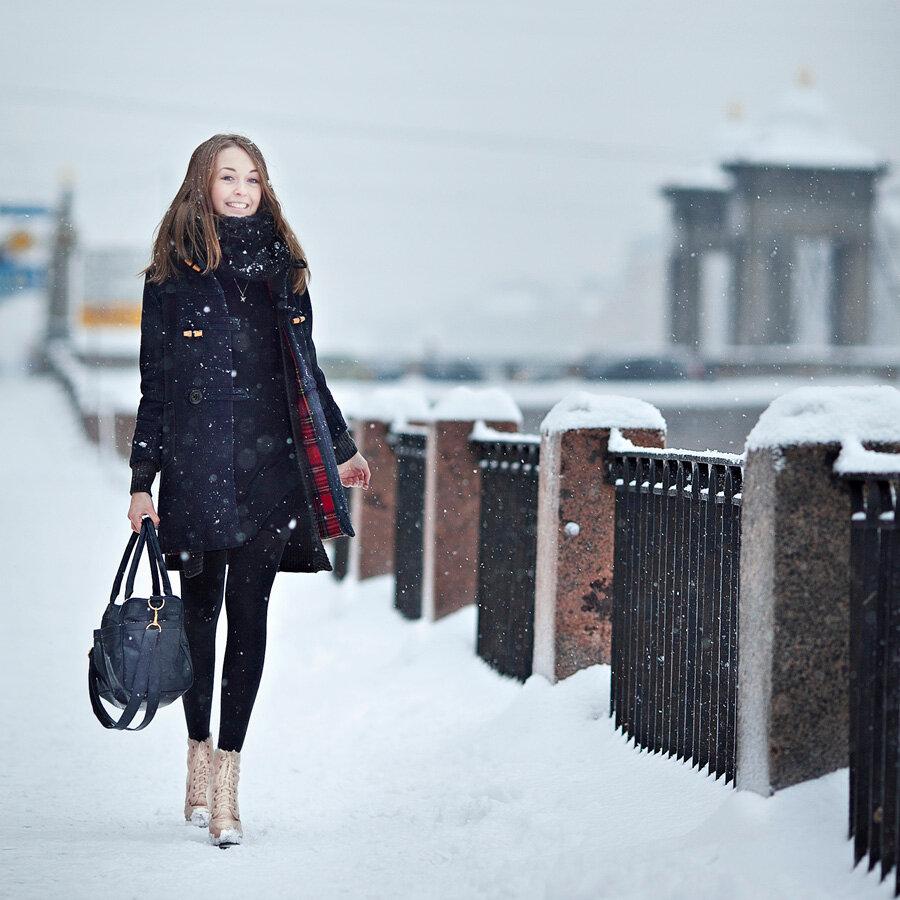 считается что фотографировать зимой в городе как