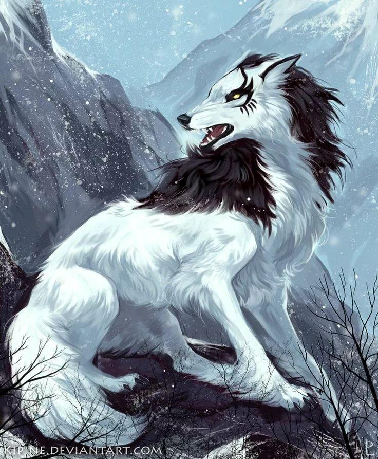 картинки волков арт фэнтези благодаря спутниковым