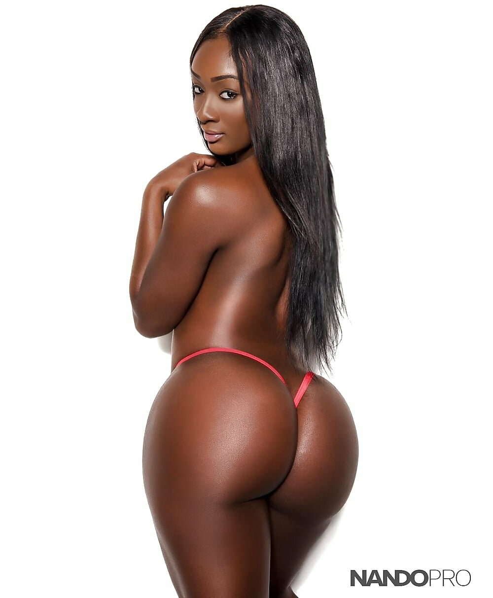 Dark skin colombian booty naked