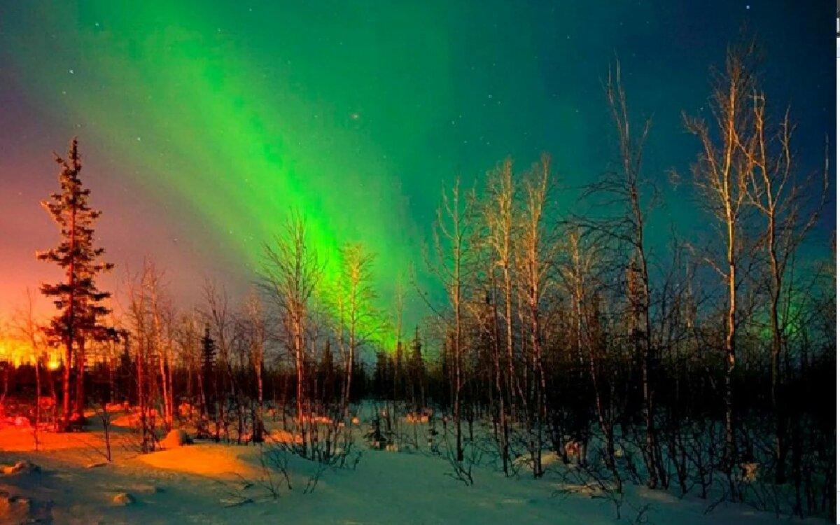 Картинка природа севера