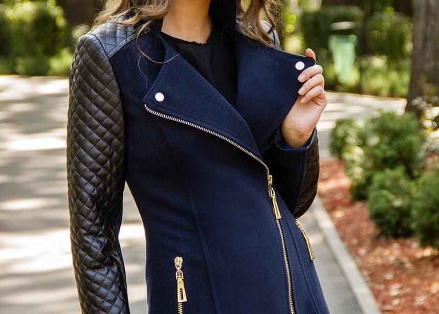 картинки пальто с кожаными рукавами набрать больше