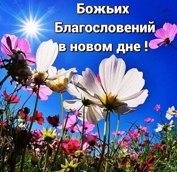 Открытки божьего благословения с удачного дня