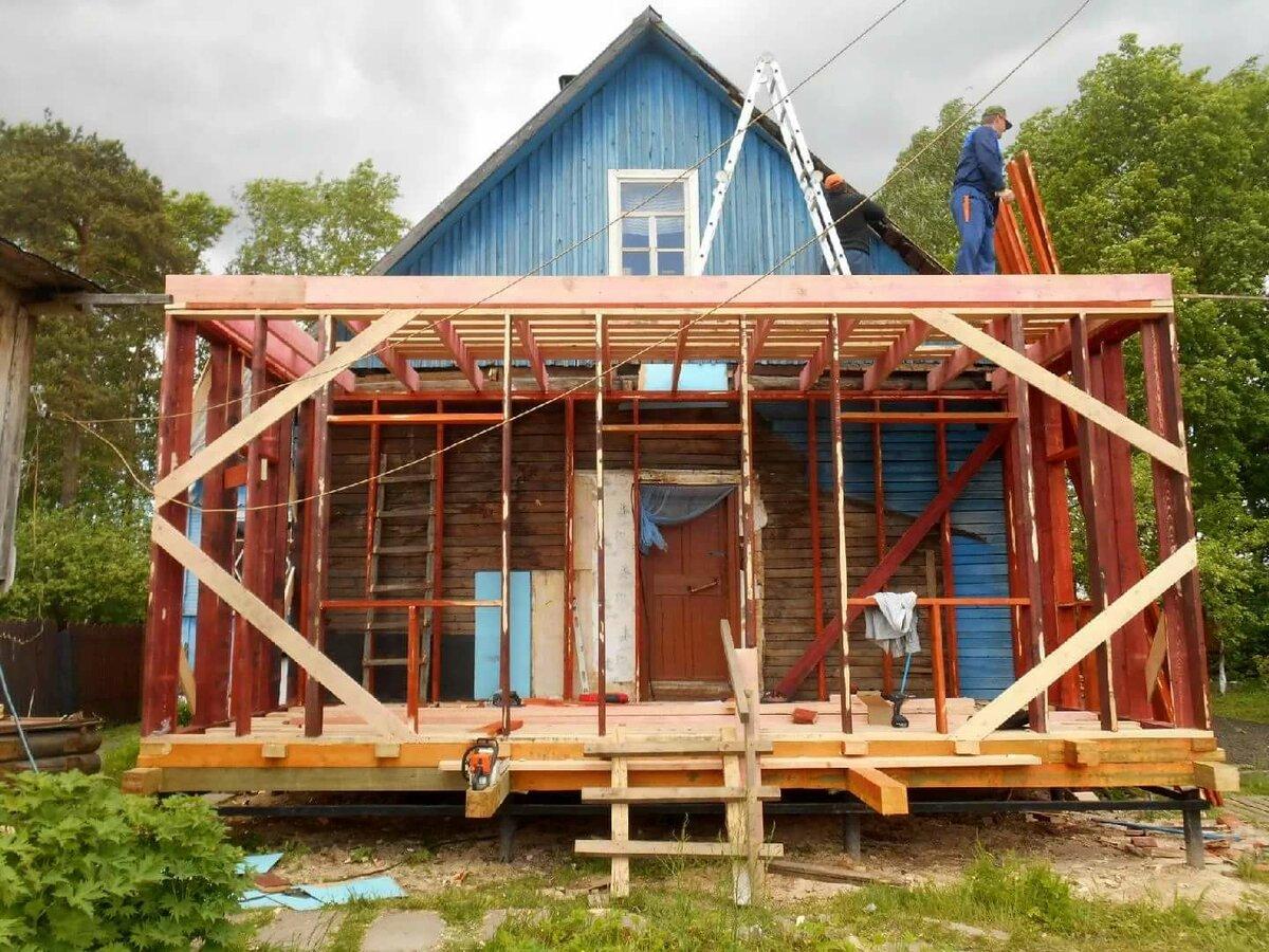 виды пристроек к деревянному дому фото паркер, либо