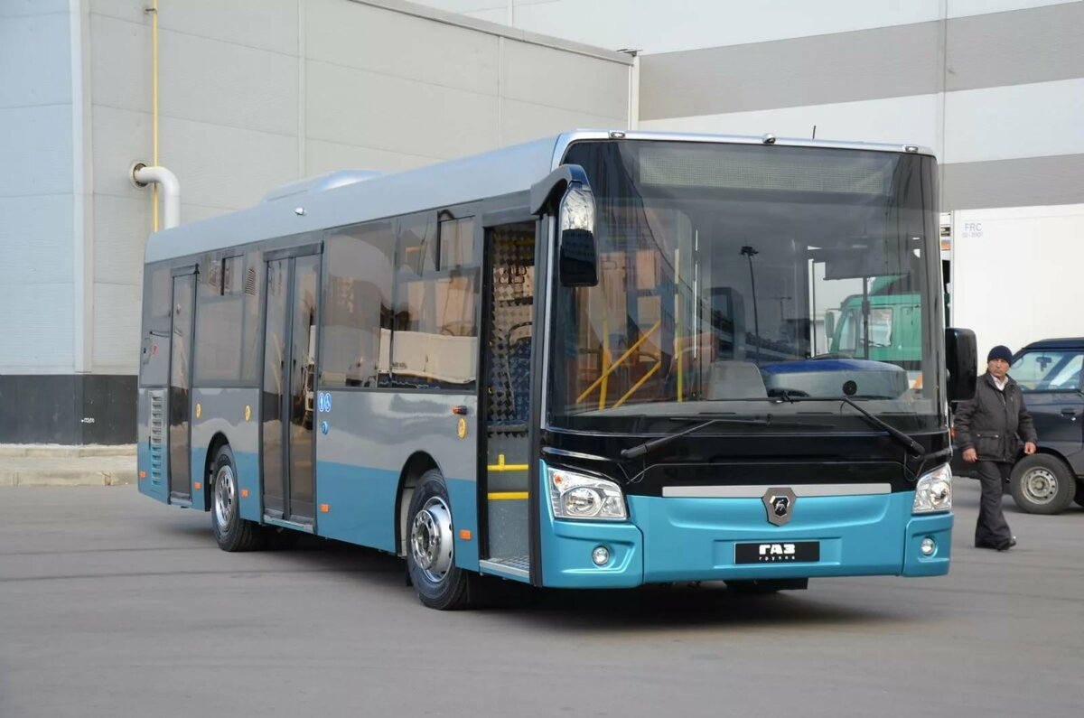 новые автобусы лиаз фото разных