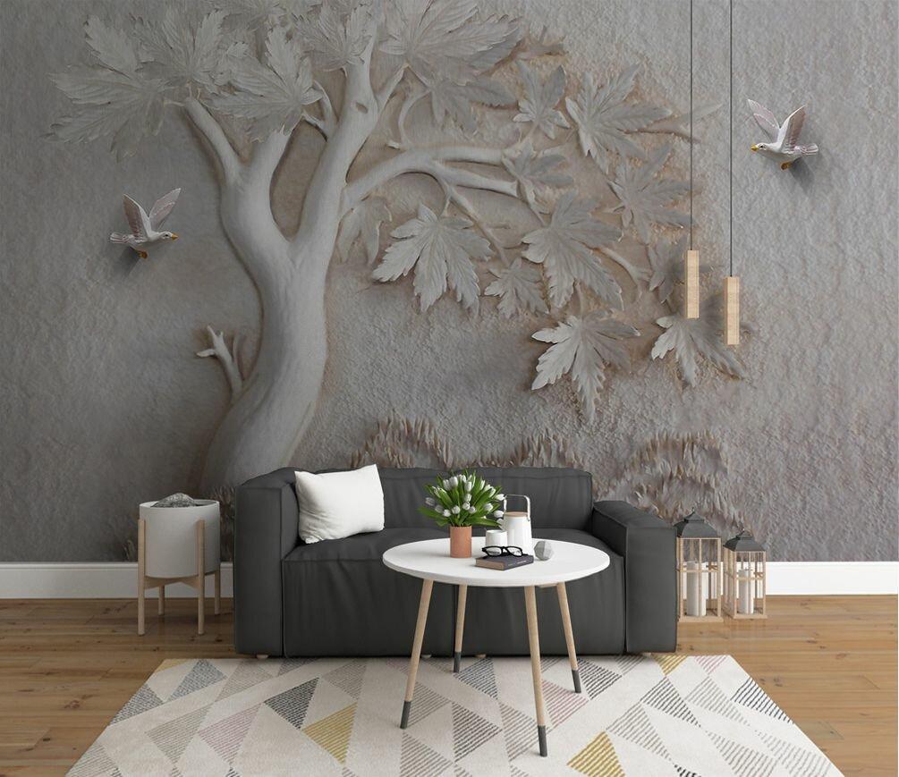 фотообои дерево на стену фото бойся прощаться тем