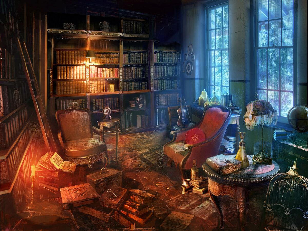 Магическая комната картинки