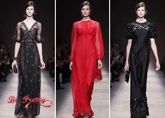 ab6c3ade992 Новая Новая коллекция вечерних платьев от Valentino Весна-Лето 2013