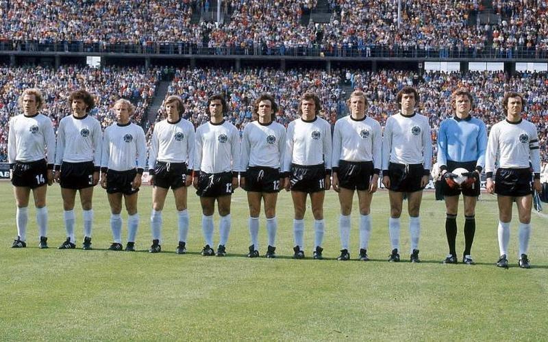 Чемпионат мира 1974 года в ФРГ. Сборная ФРГ. Чемпион мира 1974 года.