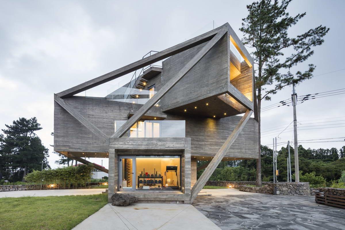 Необычные дома и коттеджи проекты фото это