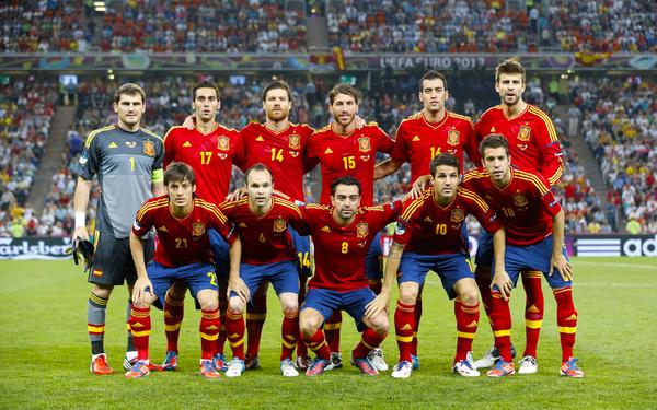 Сборная испании по футбол