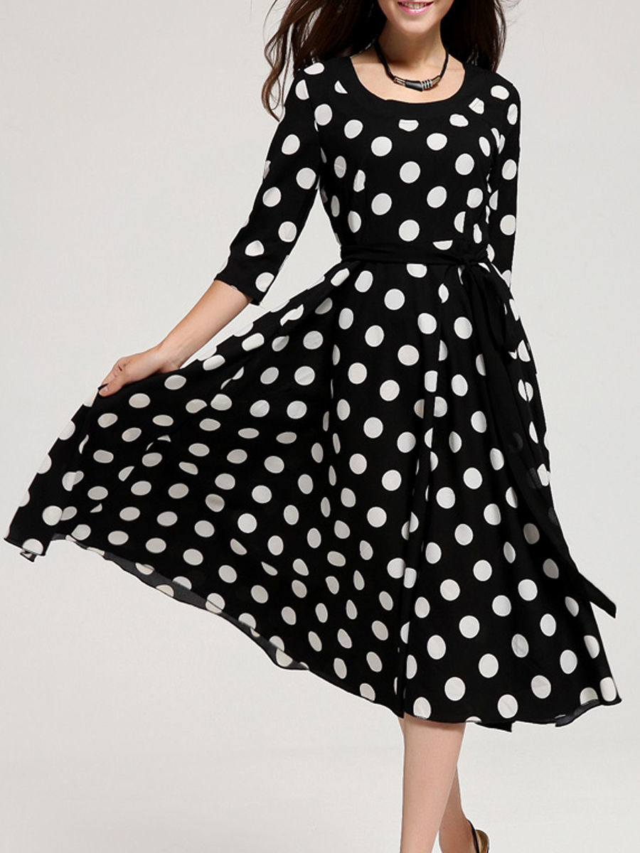 Фото платье ретро весна
