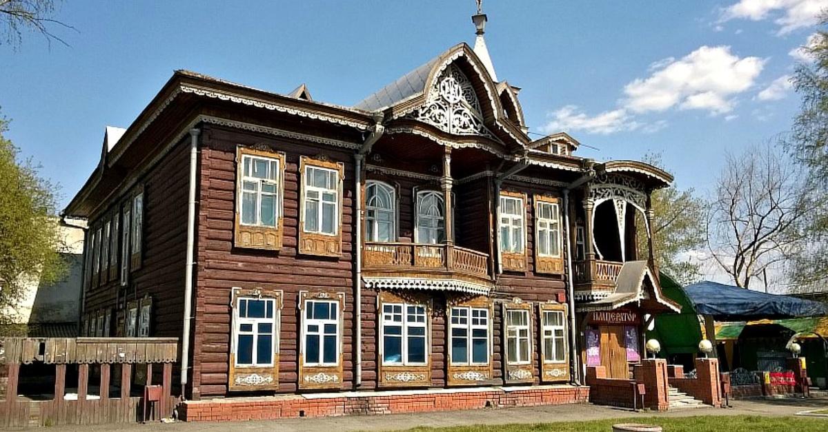 Исторические дома в картинках
