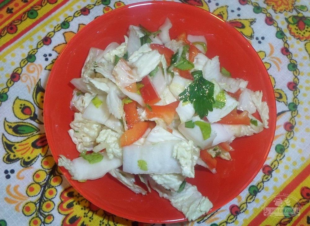 рецепты салатов фото острых