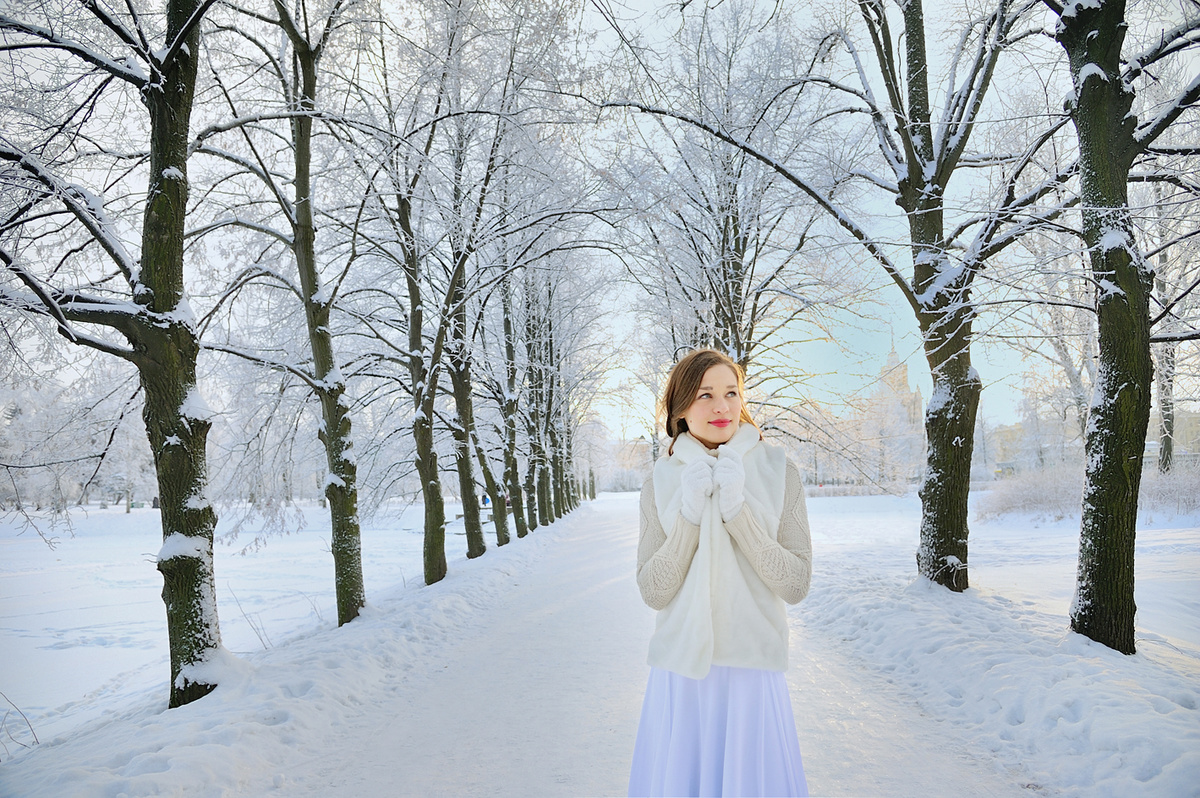факт фотографии зимой как настроить место