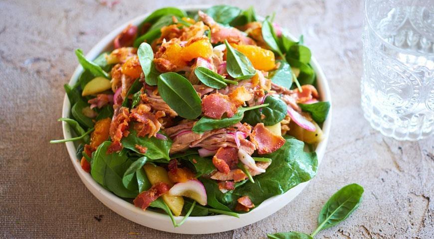 доску салат из утки рецепты с фото все представленное сделано