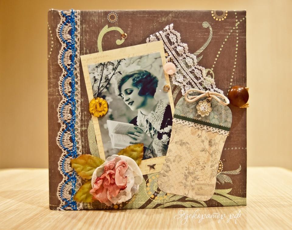 Мишек, фотоальбомы и открытки ручной работы