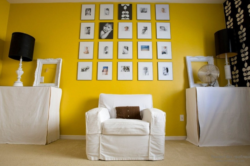 Как фотографировать если все стены желтые
