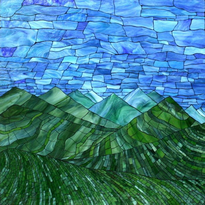 Картинки с природой для мозаики