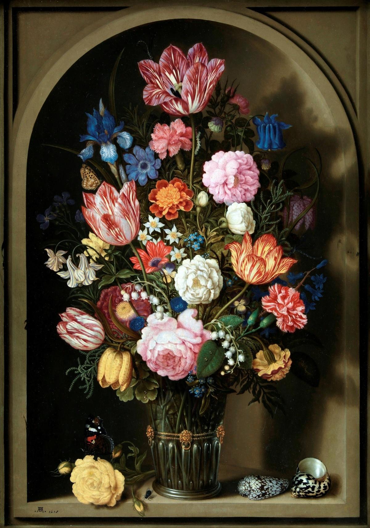 Фламандский букет это, цветов дания
