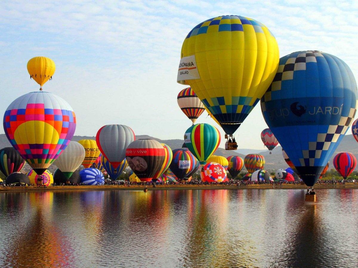разных картинки с воздухоплавательными шарами чтоб было