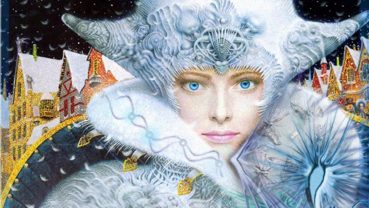 Друзьям, снежная королева картинки