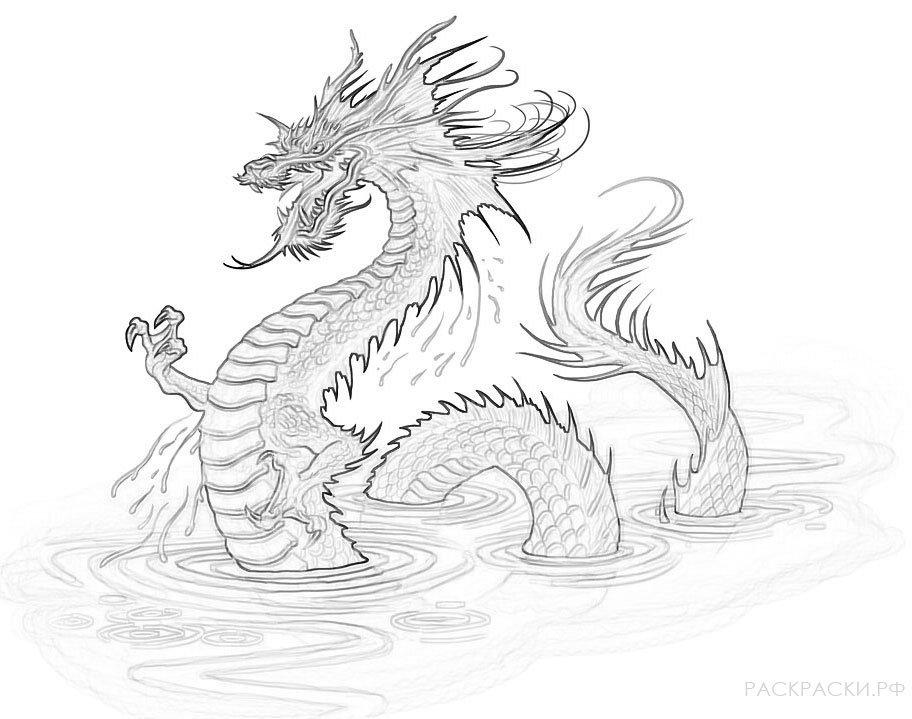 «Раскраска Страшный дракон» — карточка пользователя Anton ...