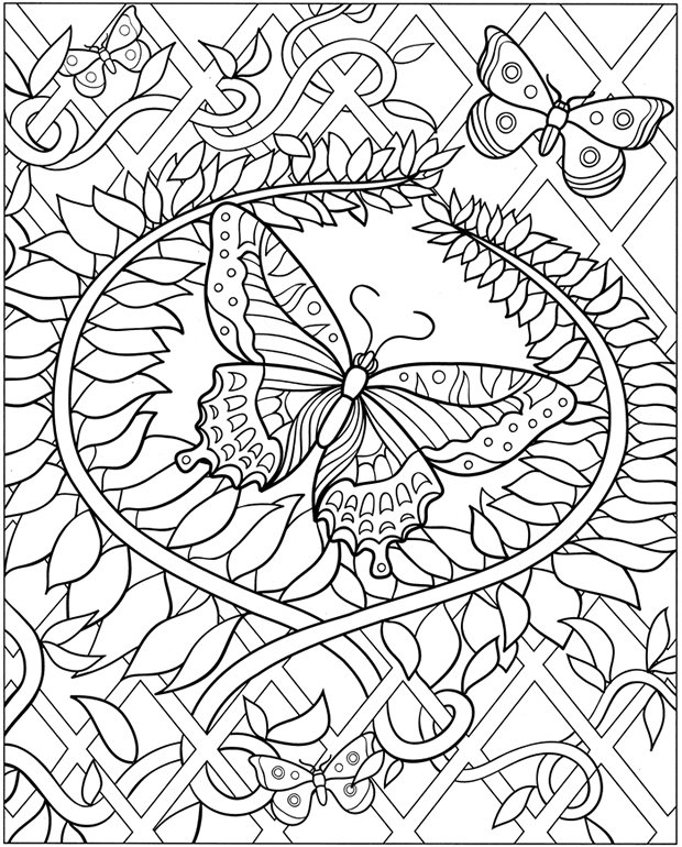 Amazing Free Dover Coloring Pages 99 With Additional Coloring Books ...